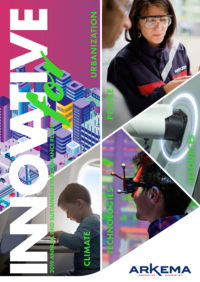 """Cover - """"Innovative - 2019 Annual and Sustainable Performance Report"""""""