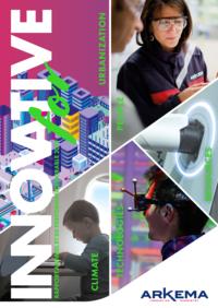 """Couverture - """"Innovative - Rapport Annuel et de Performance Durable 2019"""""""